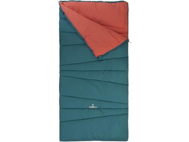 Nomad Melville Junior Sleeping Bag biscaya green/shell pink